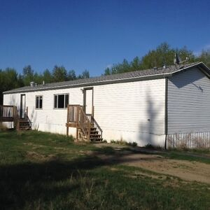 Mobile Home on Large Acreage