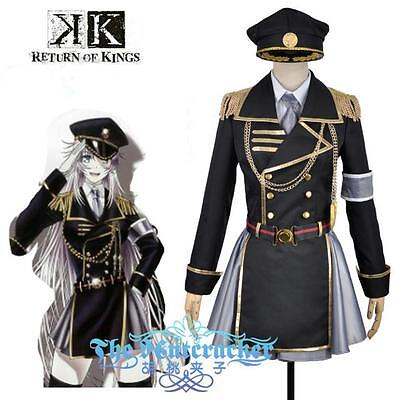 K Neko Ameno Miyabi Cosplay Costume Kostüm Uniform Manga RETURN OF (K Neko Kostüm)