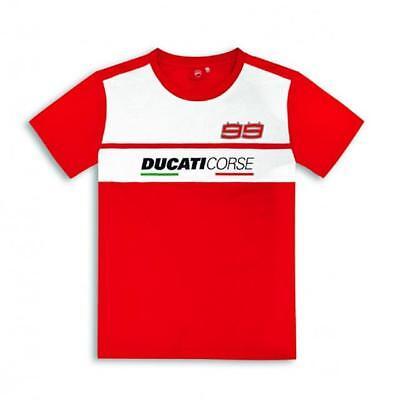 Camiseta Original DUCATI Jorge Lorenzo SS18 98769810 Talla M