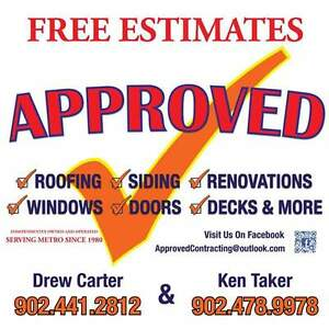 Approved Contracting For All Your Property Maintenance