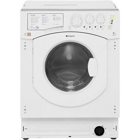 Brand new Hotpoint BHWD149/1 integrated washer dryer