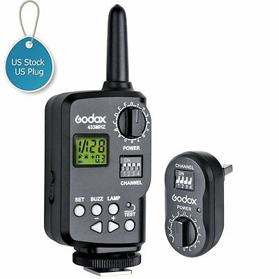 US Godox Wireless Power Controller Flash Strobe Trigger FT-16 for AD180 AD360