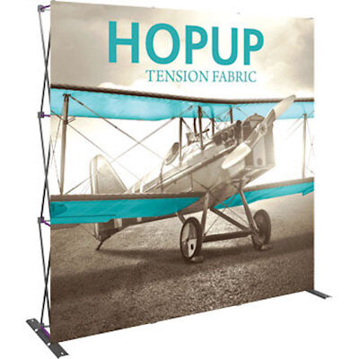 Hop Up 33 Straight Pop Up Display With Front Dewalt Tools Graphic Case