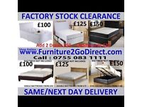 Extended Range of New Bed Frame and Mattress