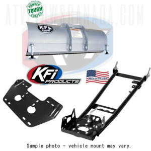 "48"" KFI PRODUCTS SNOW PLOW PACKAGE - NEW 2 YR WARRANTY"