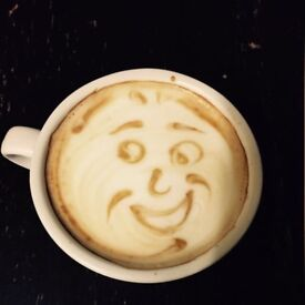 Barista at Costa Coffee