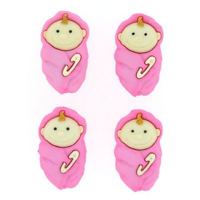 Baby Girl Novelty Buttons/DIY Sewing suppls/Plastic Buttons/Kids Craft Suppls   (Diy Costumes Girls)