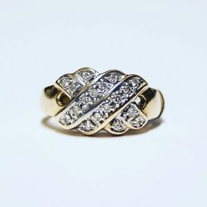 Diamond Ring 14k Gold at Great Pacific Pawnbrokers