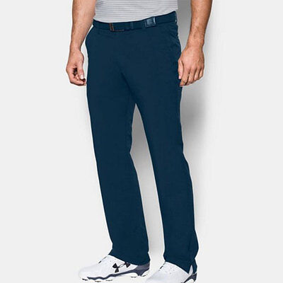 UNDER ARMOUR GOLF MATCH PLAY PANTS SIZE: W34 / L32 NAVY JORDAN SPIETH NEW 18235