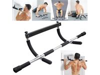 IRON MAN BAR DOOR CHIN PULL UPS SIT PUSH UP ABS WORK OUT EXERCISE MACHINE GYM