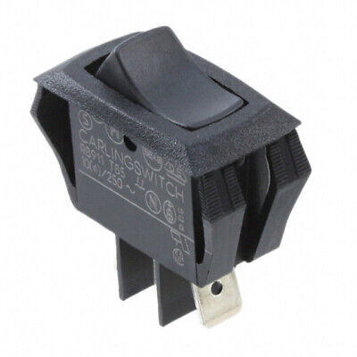 Carling Technologies Rc911-rb-b-0-n Switch Rocker Curvette Spdt On-off-on