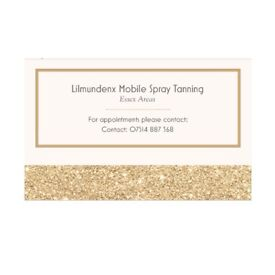 Mobile Spray Tanning - Essex Areas