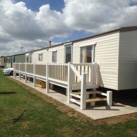 Beautiful 10 berth caravan to rent chapel st Leonard's