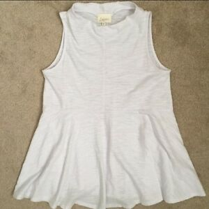 ANTHROPOLOGIE PEPLUM TOP-BRAND NEW!