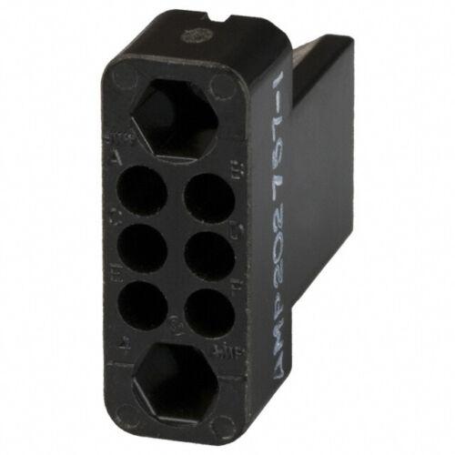 TE 202757-1 rack & panel connectors female block 6POS qty=3