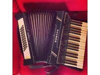 Piano Accordion Hohner Verdi i 48 Bass