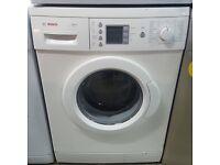 White Bosch washing machine l