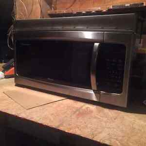 Micro-ondes hotte stainless -  Stainless Microwave-hood