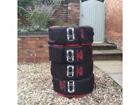 Winter wheels & Tyres - 225/45/17 Vredestein Wintrac Extreme, Alutec rims - hardly used
