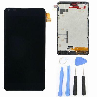 LCD NOKIA LUMIA 640 LTE RM-1072 DISPLAY FRAME TOUCH SCREEN VETRO MICROSOFT NERO