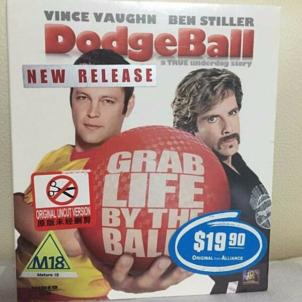 VCD For Sale - Dodgeball A True Underdog Story