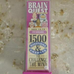 BRAIN QUEST DECK TWO QUESTIONS AND ANSWERS