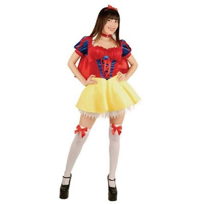 Snow White Deluxe Adult 5 Piece Halloween Costume Medium (New) - FREE SHIPPING