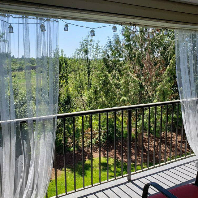 Mosquito Netting Curtain Panel  Outdoor Curtain for Patio, P
