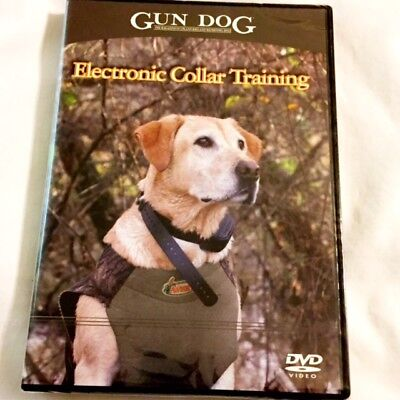 "Brand New DVD ~ ~ Gun Dog Magazine ~ ~ ""Electronic Collar Training"" ~ Fast ~ NEW for sale  Manchester"