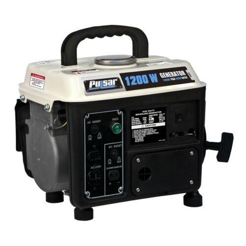 Pulsar Gas 2 stroke Peak 1200W Rated 900W Generator