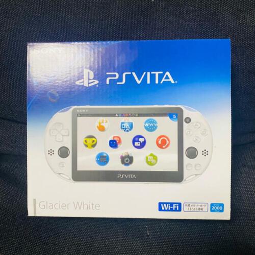 New+Sony+ps+Vita+Glacier+White+PCH-2000+Video+Game+Consoles