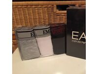 Armani 3 pack of boxer shorts