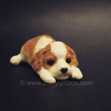 Dollhouse Miniature Dog / Puppy - Cavalier King Charles Spaniel Carrum Kingston Area Preview