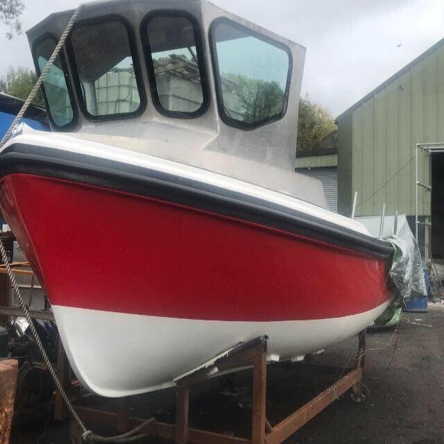 Fishing boat Cheverton Champ 18
