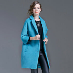 Luxury 100% new gorgeous Turquoise coat SIZE M with tag