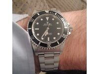 Rolex 2005 sub box n papers