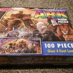 BRAND NEW (IN PACKAGE) MELISSA AND DOUG NOAH'S ARK PUZZLE