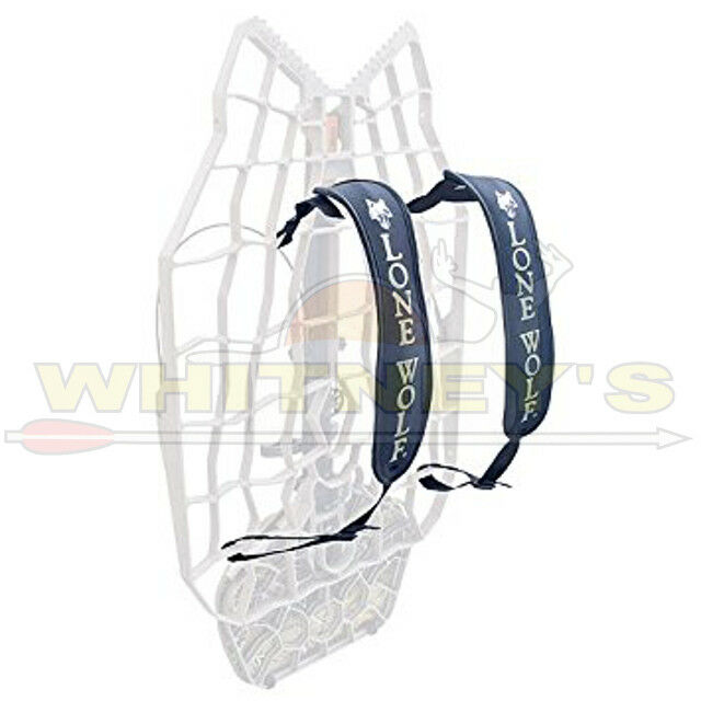 Lone Wolf Treestand Accessories Padded Back Pack Straps - It