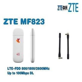 NEED INTERNET AT HOME OR ON THE GO ***** O2 4G LTE Surfstick ZTE MF823 USB DONGLE