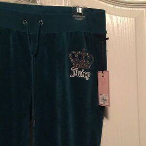 Brand new JUICY COUTURE Velour Sweats  London Ontario image 2