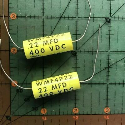 Cornell Dubilier Film Axial Capacitor .001uF 600v WMF6D1K 1000pF Audio 8pcs