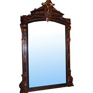 6948-Antique-19th-C-Carved-Wall-or-Mantel-Mirror