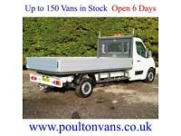 2016 (16) RENAULT MASTER LL35 BUSINESS RWD 12'11 L3 DROPSIDE PICK UP(NOT TIPPER)