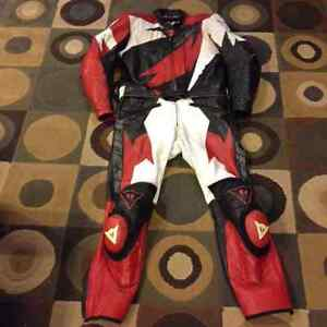 Dainese 2 piece riding leathers
