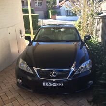 2010 Lexus IS250C Convertible Cammeray North Sydney Area Preview