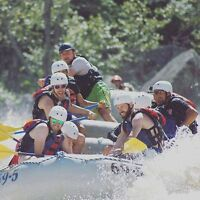 Whitewater Rafting in Maine at Par