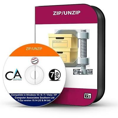 Zip   Winzip   Unzip Rar File Compression Utility Software Cd