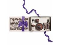 BODY SHOP COCONUT GIFT SET - BRAND NEW IN BOX