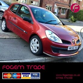 NEW SHAPE for UNDER £1000!!! Renault Clio Expression AC 1.4 3dr - New MOT - Great Price!!!