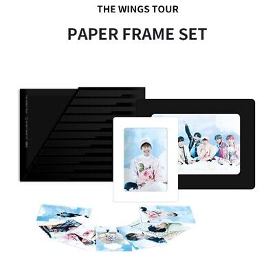 [Official] BTS PAPER FRAME SET VER.2 [THE WINGS TOUR]
